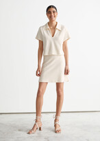 Thumbnail for your product : And other stories Terry Mini Skirt