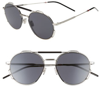 Christian Dior 54mm Round Sunglasses