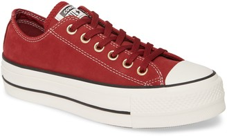 Converse Chuck Taylor® All Star® Lift Nubuck Leather Sneaker