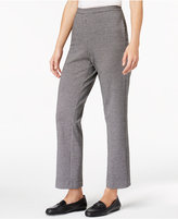 Alfred Dunner Talk Of The Town Houndstooth-Print Pants