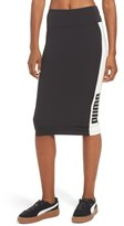 Puma Women's Archive Logo Pencil Skirt