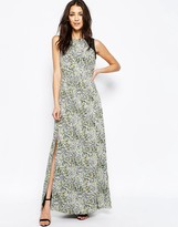 Sugarhill Boutique Lottie Maxi Dress In Smudge Print