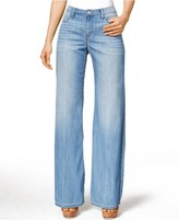 Calvin Klein Jeans Easy Flare-Leg Wash Jeans