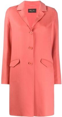 Loro Piana Single Breasted Mid-Length Coat