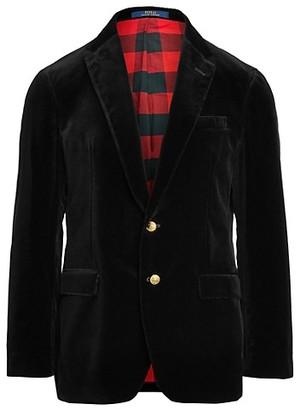 Polo Ralph Lauren Basic Cotton Velvet Sportcoat