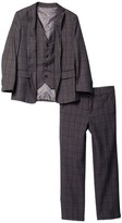 Isaac Mizrahi Three Piece Suit (Toddler & Big Boys)