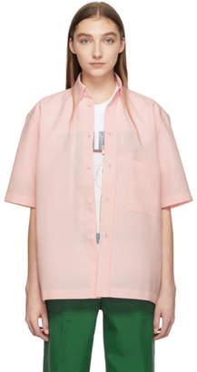Plan C Pink Cady Short Sleeve Shirt