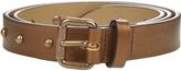 Tomas Maier Studded leather belt