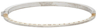 Maison Margiela Silver and Gold Number Bracelet