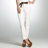"Jones New York The Colored Straight Leg Jean with 31"" Inseam"