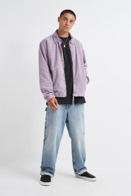 Urban Outfitters Iets Frans... iets frans... Purple Corduroy Harrington Jacket - purple XL at