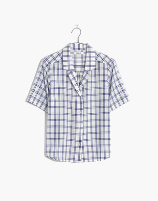 Madewell Camp Shirt in Plaid