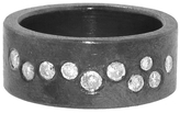 Todd Reed Oxidized Band with Brilliant Cut Diamonds