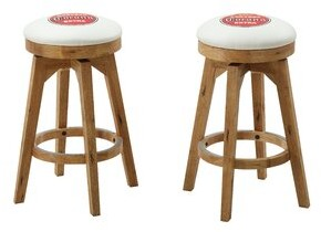 "ECI Furniture Corona 30"" Bar Stool (Set of 2 Furniture"