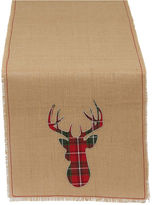 DESIGN IMPORTS Design Imports Holiday Burlap Table Runner