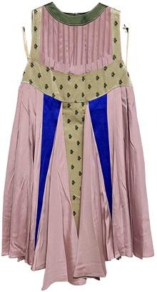 Valentino Pink Silk Dresses