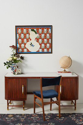 Deluxe Tamboured Desk By Tracey Boyd in Brown Size ALL