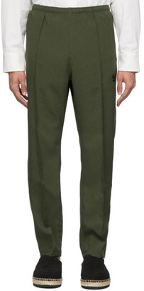 Needles Green Warm Up Track Pants