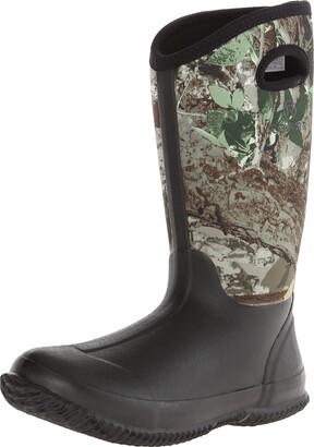 Roper Women's Barnyard Camo Lady Rain Shoe