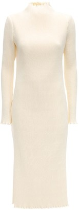 DANIELLE FRANKEL Stretch Acetate Blend Dress