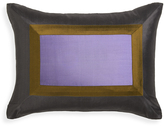 Jonathan Adler Lavender Siam Silk Throw Pillow