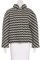 Issa Patterned Short Coat