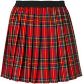 P.A.R.O.S.H. pleated tartan skirt