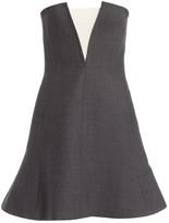 Christian Dior Grey Wool Dresses