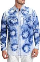 Cult of Individuality Men's Printed Clint Sportshirt