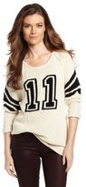 Townsen Women's Varsity Cashmere Blend Sweater