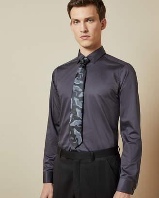 Ted Baker MUFASI Plain cotton shirt
