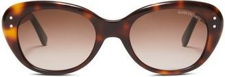 Oliver Goldsmith Sunglasses Sophia 1958 Tortoise Seafoam