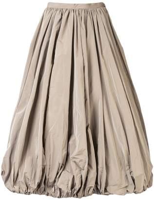 Co puffball midi skirt