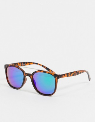 Jeepers Peepers Jeepers peeper tortoise shell frame sunglasses