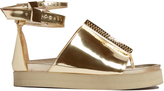 Ellery Ryme double ankle-strap sandals