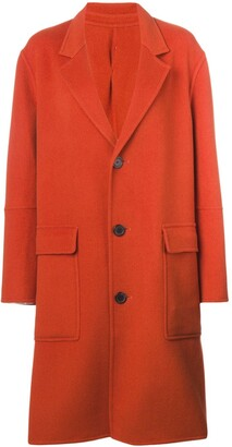 Ami Paris Three Buttons Patch Pocket Unlined Coat