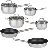 Berghoff Dorato Cookware Set Stainless Steel 10pcSet