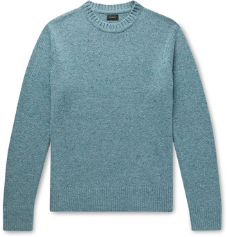 J.Crew Melange Merino Wool-Blend Sweater