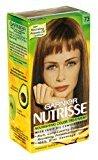 Garnier Nutrisse Nourishing Color Treatment with Fruit Oil Concentrates, Level 3 Permanent, Dark Golden Blonde 73 (Pack of 3)