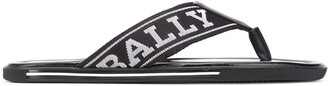 Bally Border flip flops