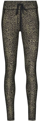 The Upside Leopard-Print Yoga Leggings