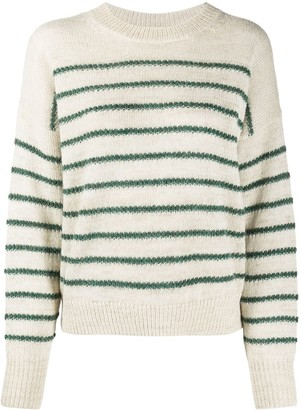 Etoile Isabel Marant Striped Long-Sleeve Jumper
