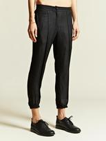 Emiliano Rinaldi Women's Elasticated Cuff Trousers