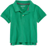 Arizona Short Sleeve Solid Cotton Polo Shirt - Baby