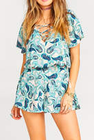 Show Me Your Mumu Williamsburg Paisley Romper
