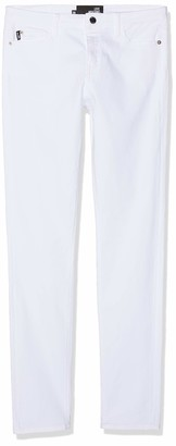 Love Moschino Women's Heart Shaped Back Pocket Skinny Trouser
