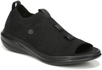 PeepToe BZees Peep-Toe Slip-On Loafers - Charm