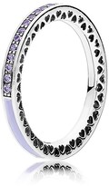 Pandora Ring - Sterling Silver, Cubic Zirconia & Enamel Radiant Hearts