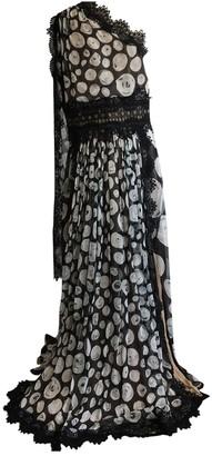 Naeem Khan Black Silk Dresses