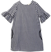Soprano Bell Sleeve Gingham Dress (Big Girls)